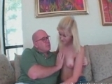 Sweet Perverse Blonde Daughter Fucked By Grandpa By Danieldion