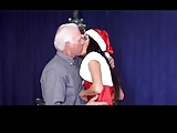 Christmas  Grandpa And Grand Daughter Part1